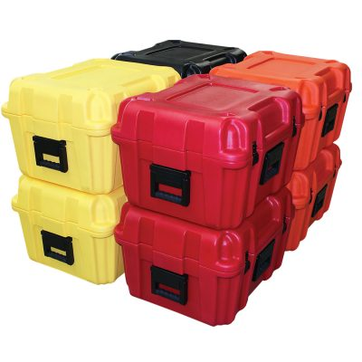 plastic boxes enclosures rotational molding rotomolding injection molded manufacturer texas soft sewn goods bags electronics instruments gun holsters military project carrying cases